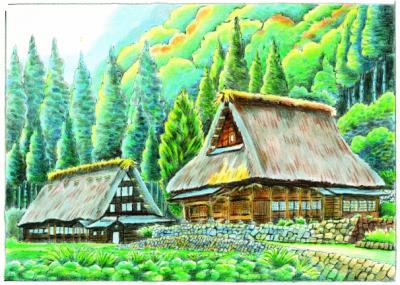 認知症予防に効果的な大人の塗り絵のコンテスト展開催